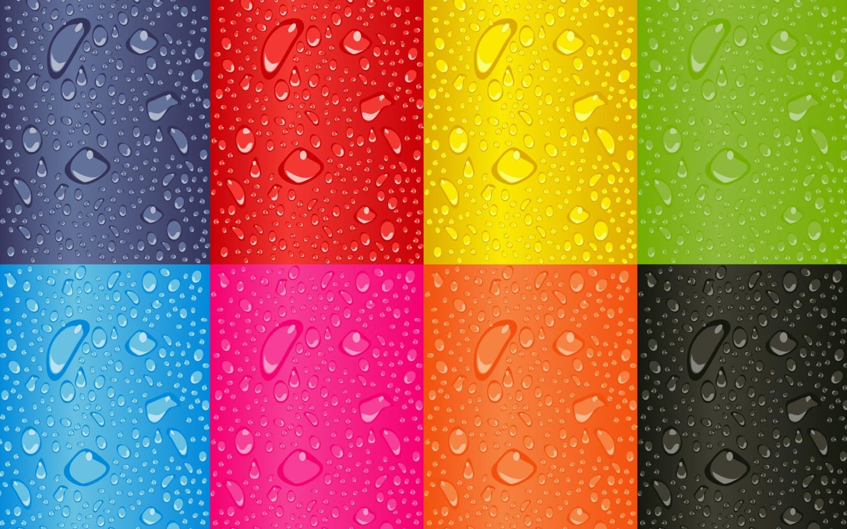 Cuadros de colores - 1680x1050