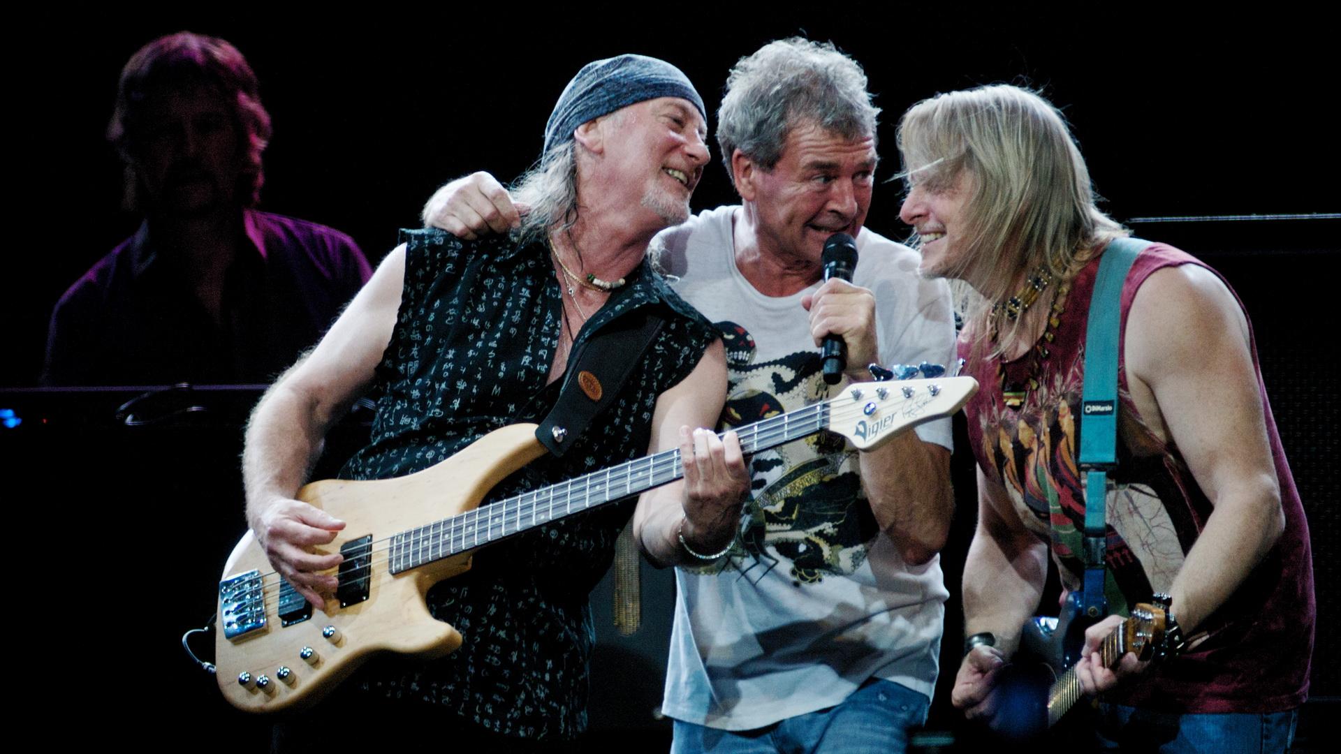 Deep Purple en concierto - 1920x1080