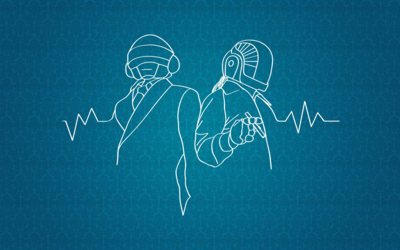 Dibujo de Daft Punk - 1280x800