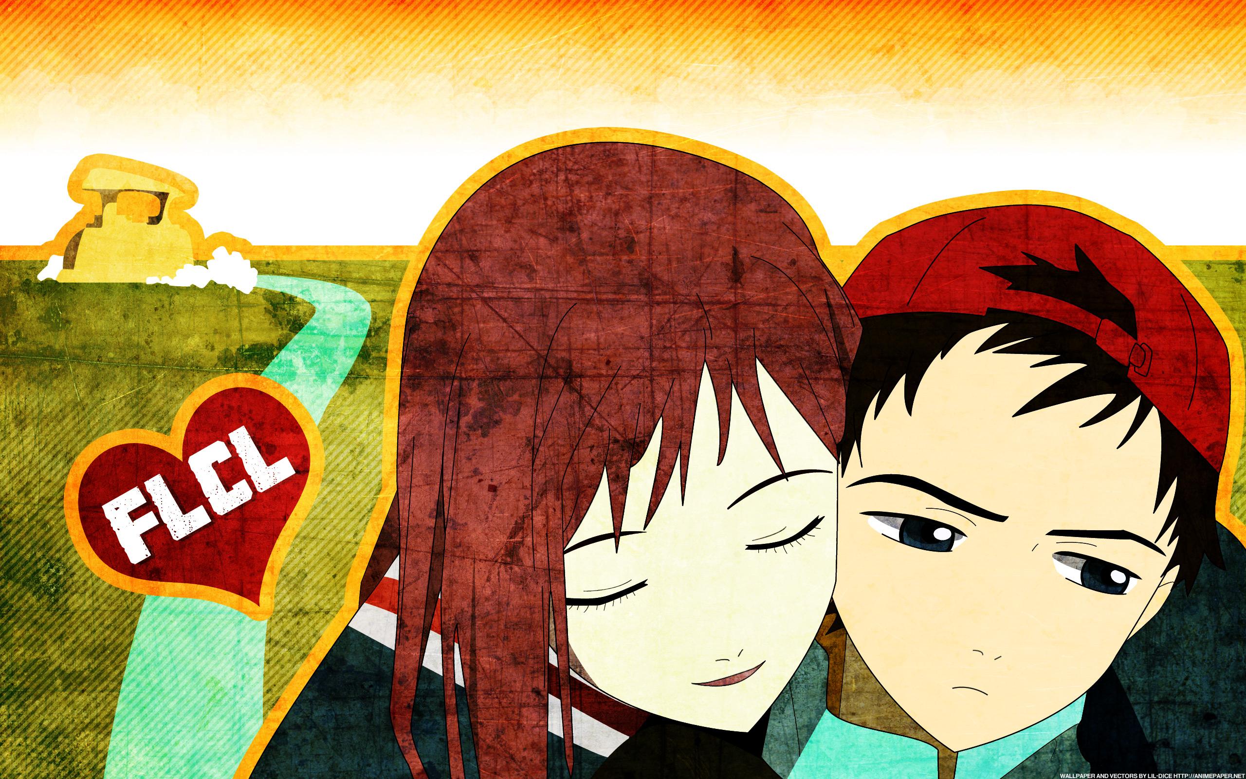 Dibujo de jóvenes enamorados - 2560x1600