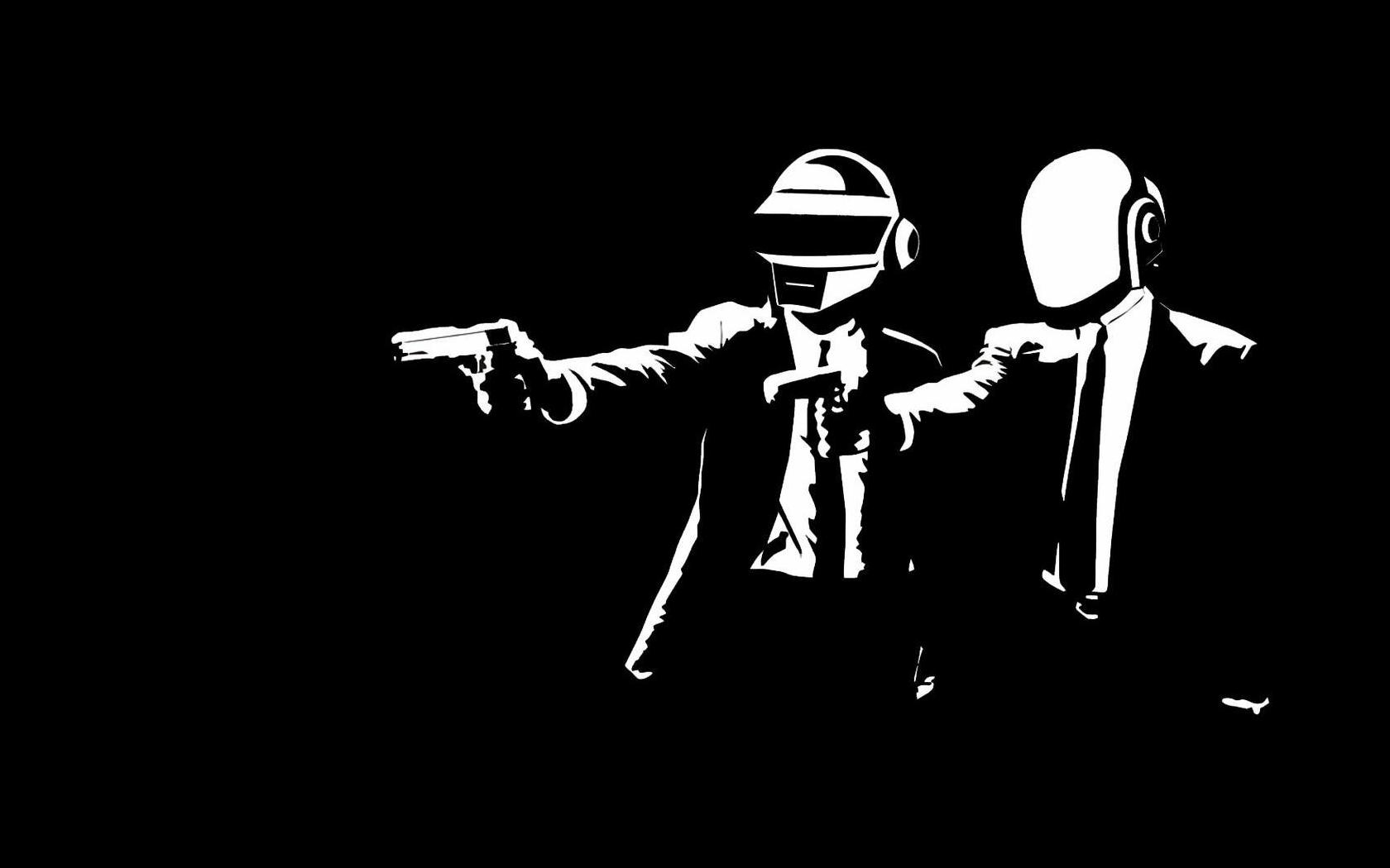 Dibujos de Daft Punk - 1680x1050