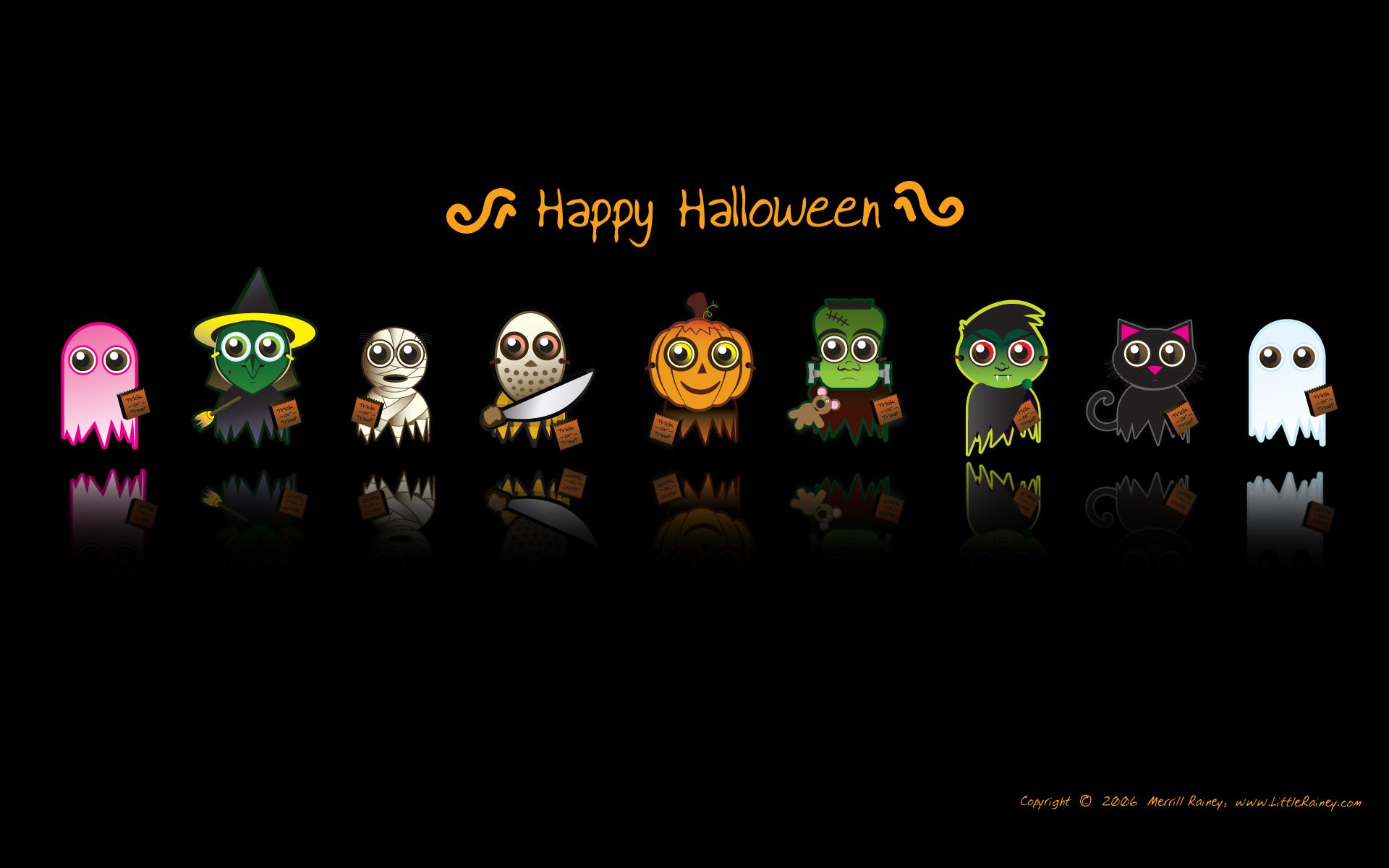 Dibujos de halloween - 1920x1200