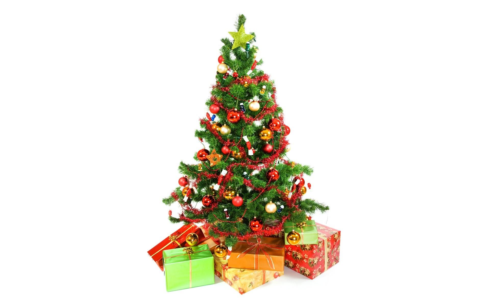 Diseño de Arbol de Navidad - 1920x1200