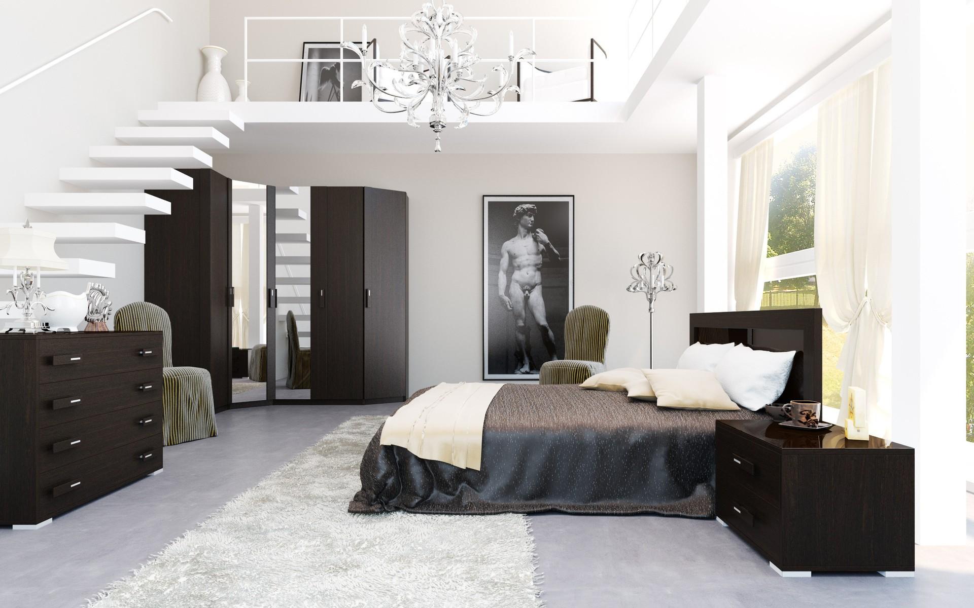 Diseño de habitación moderna - 1920x1200