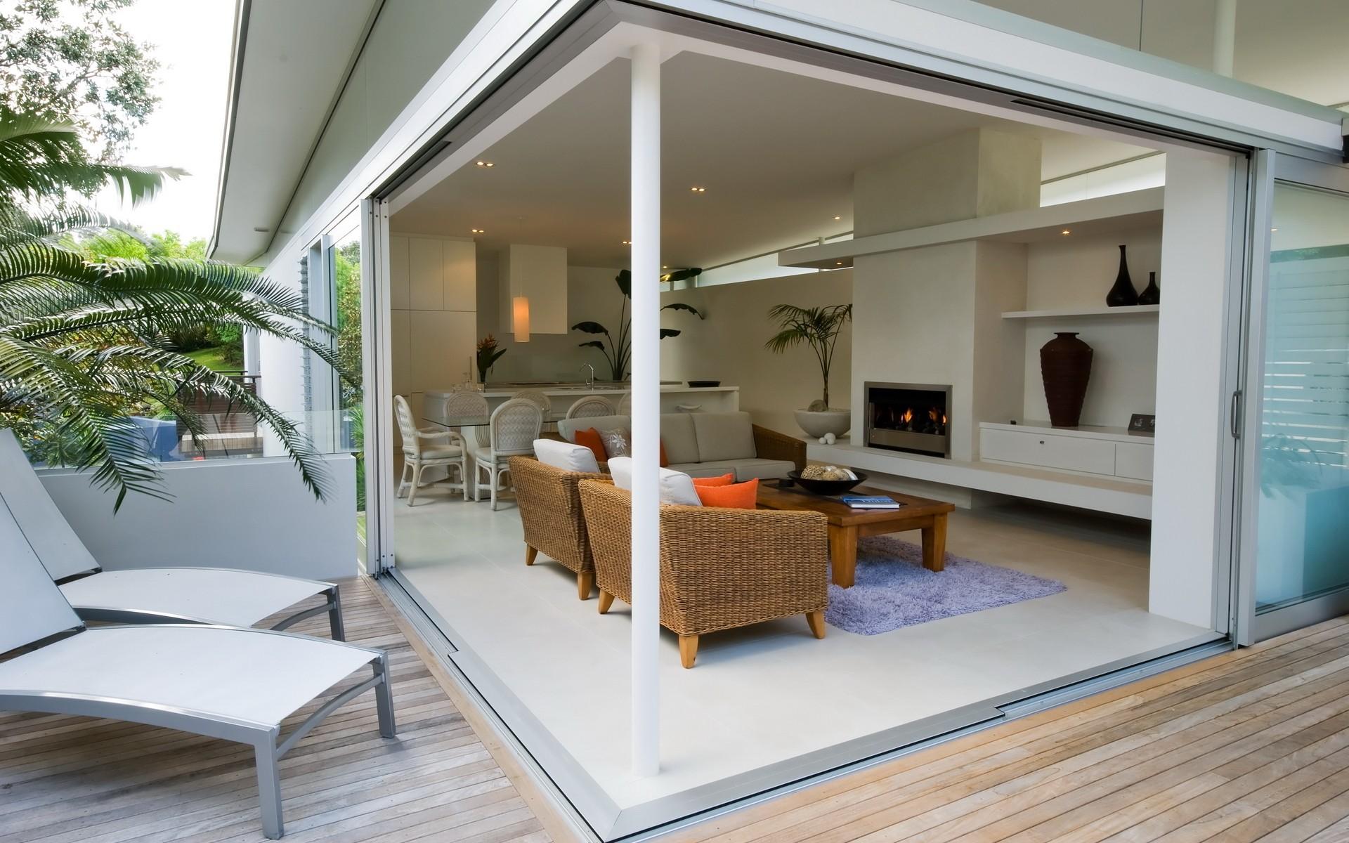 Diseño de una sala exterior - 1920x1200