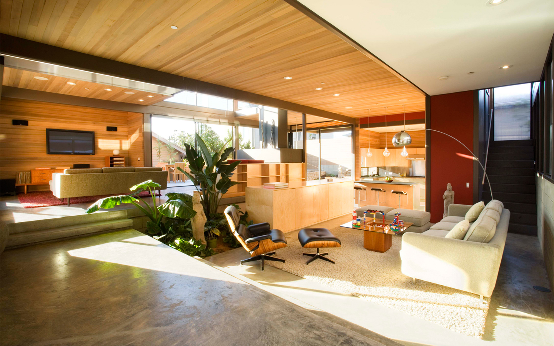Diseño interior de una casa - 1440x900