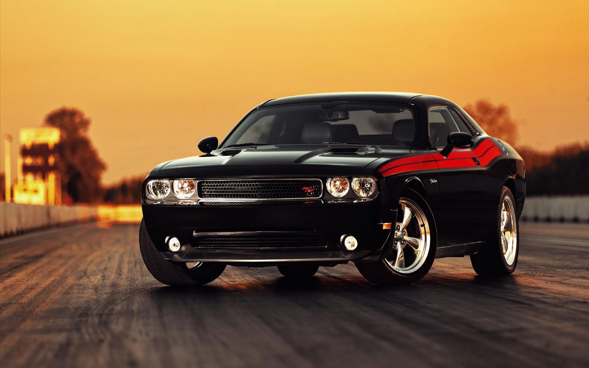 Dodge Challenger negro - 1920x1200