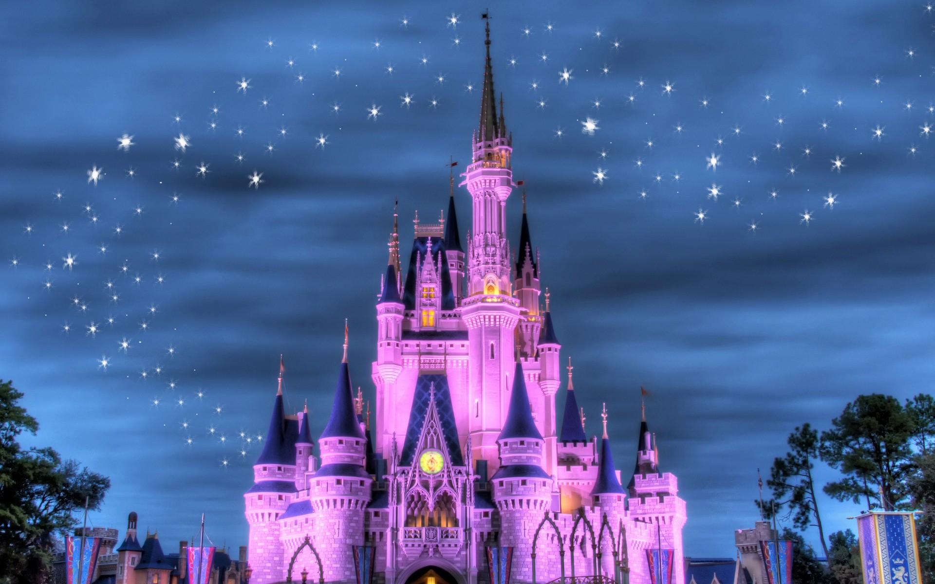El castillo de Disney - 1920x1200