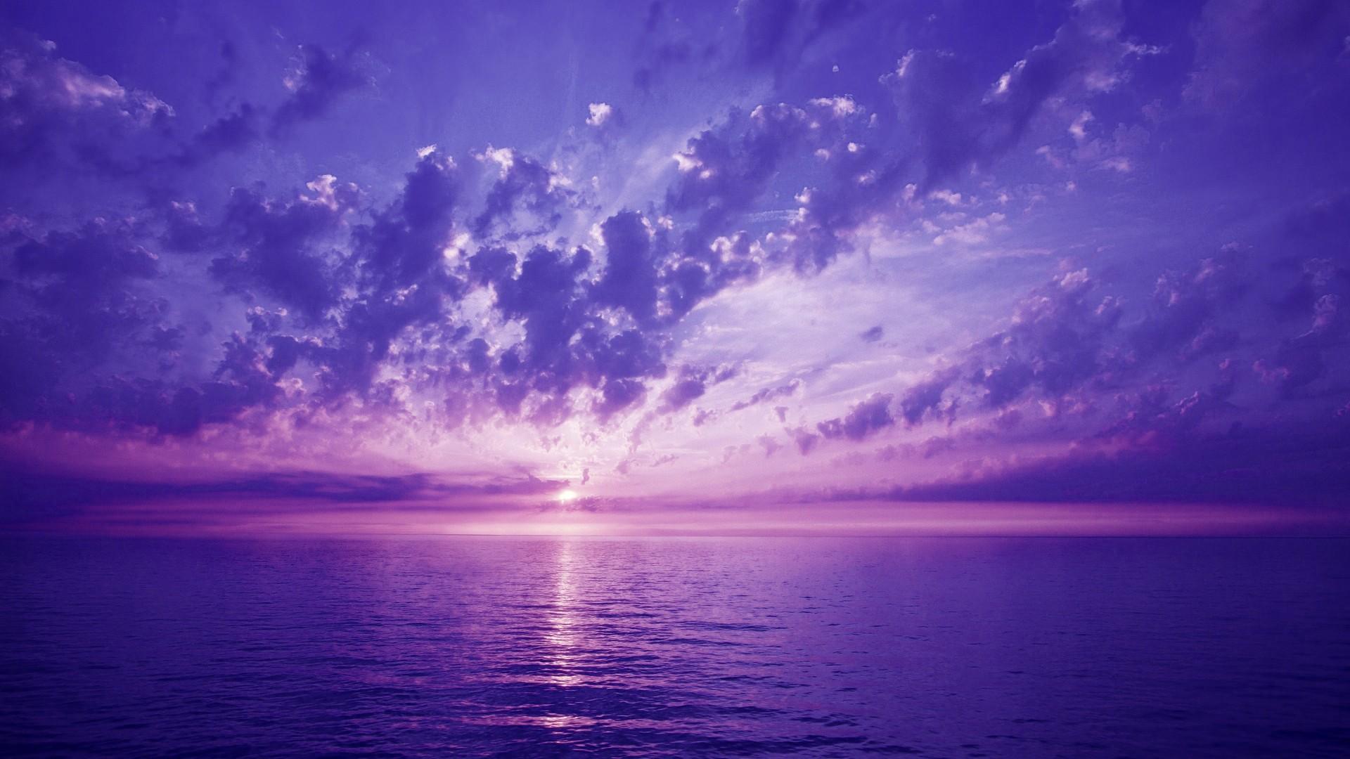 El cielo morado - 1920x1080