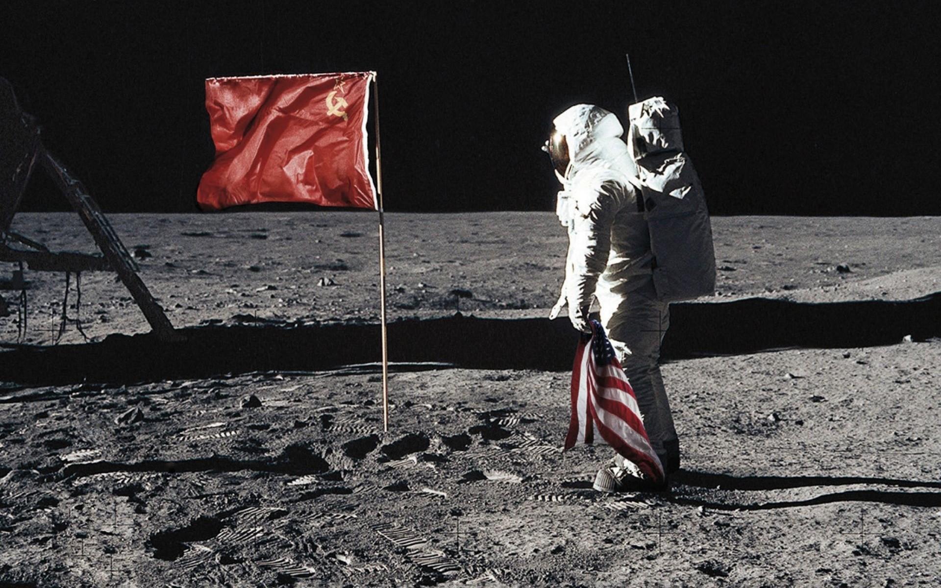 El hombre en la luna parodia - 1920x1200