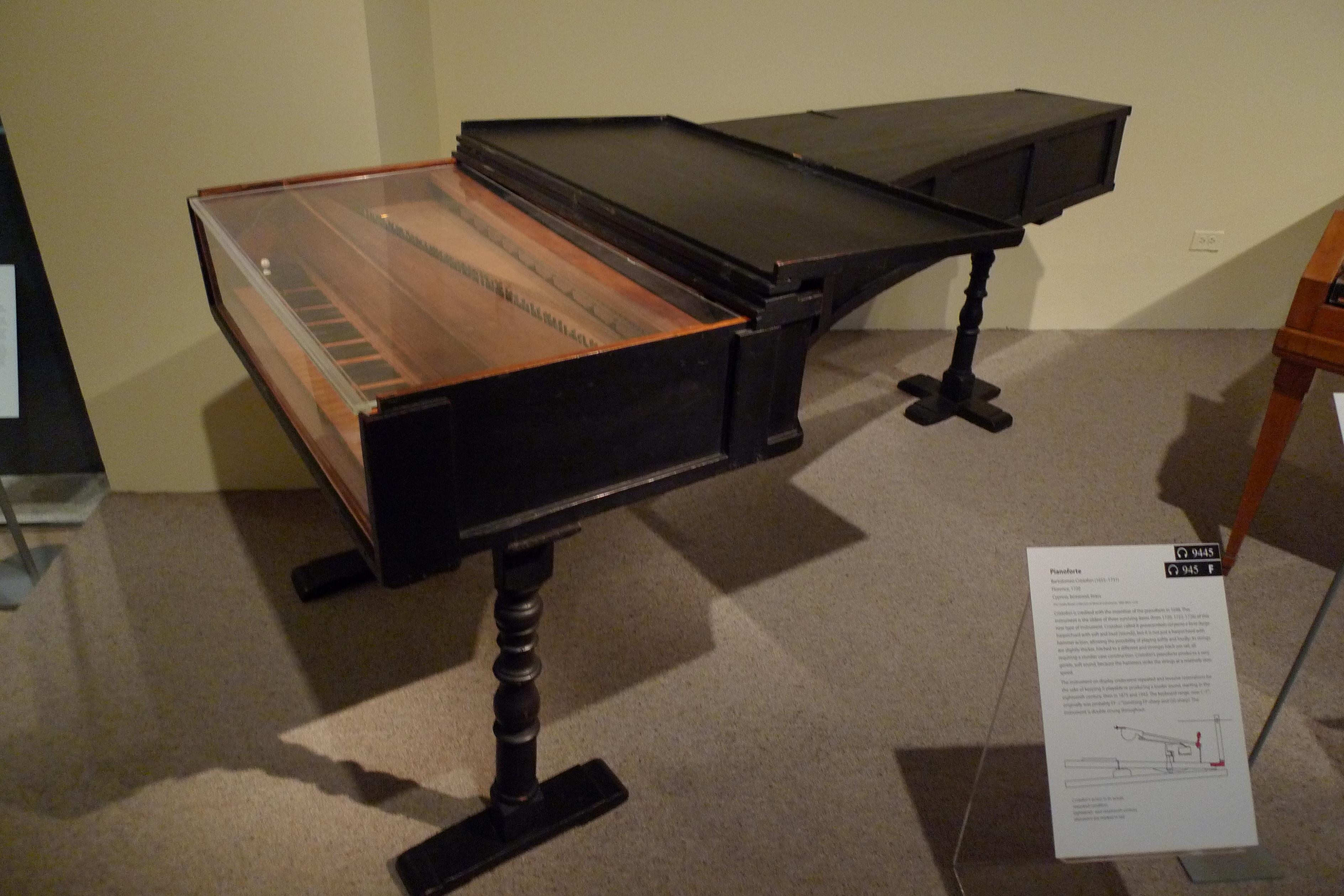 El piano de Bartolomeo Cristofori - 3776x2520
