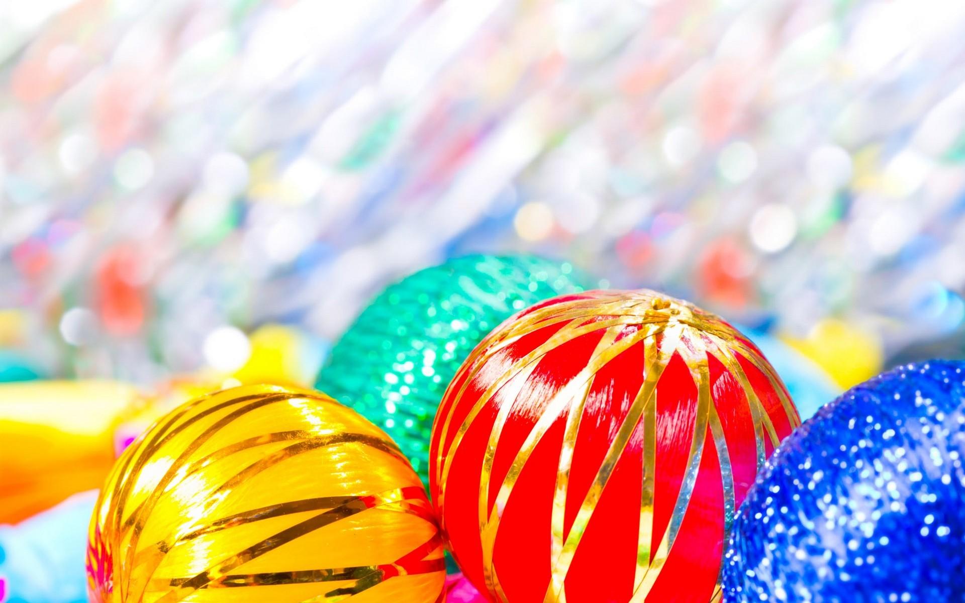 Esferas por navidad - 1920x1200