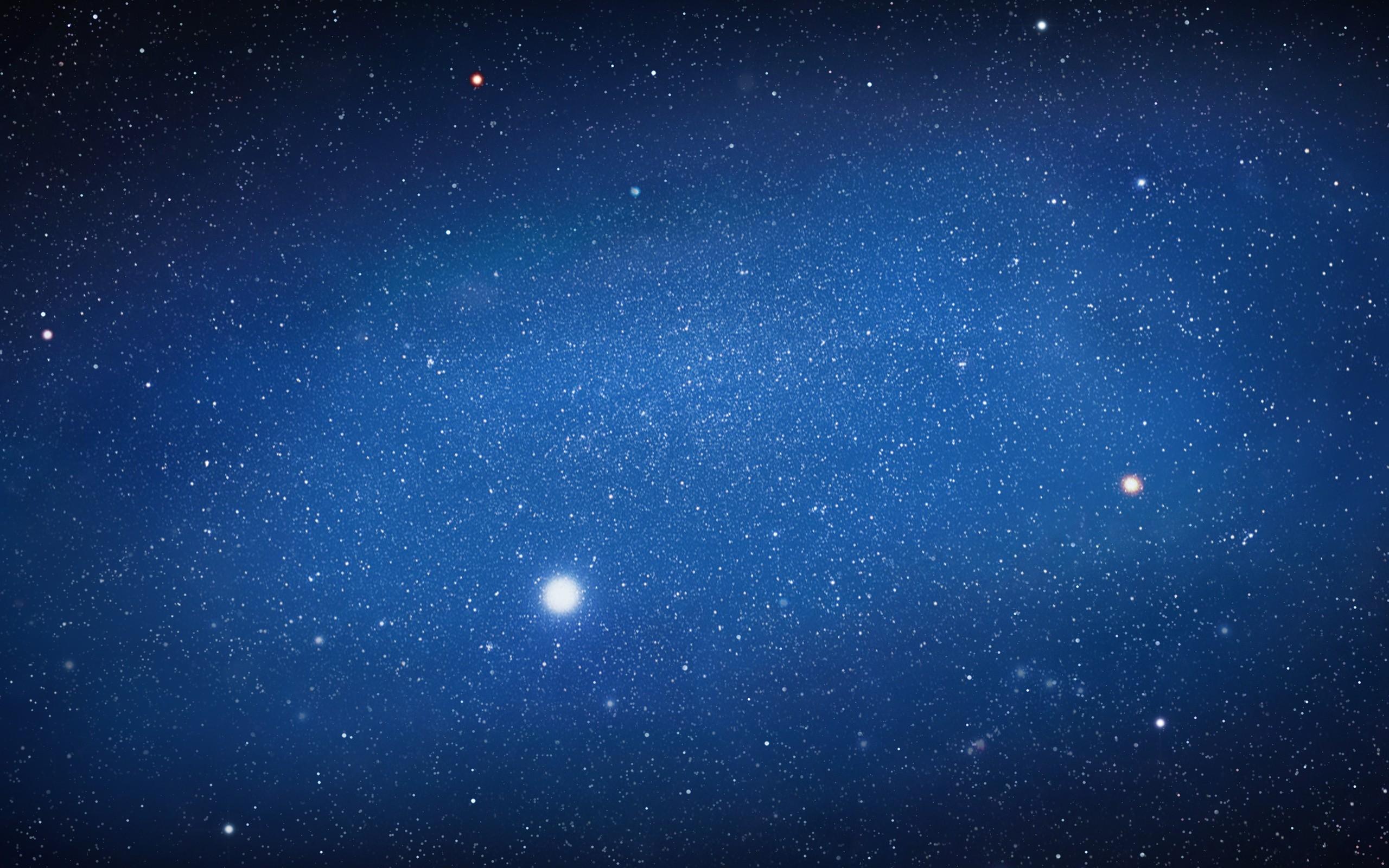 Estrellas en el espacio - 2560x1600