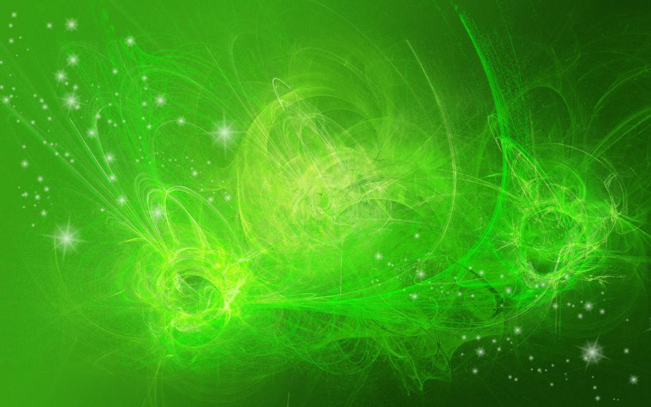 Fondo verde abstracto - 1280x800
