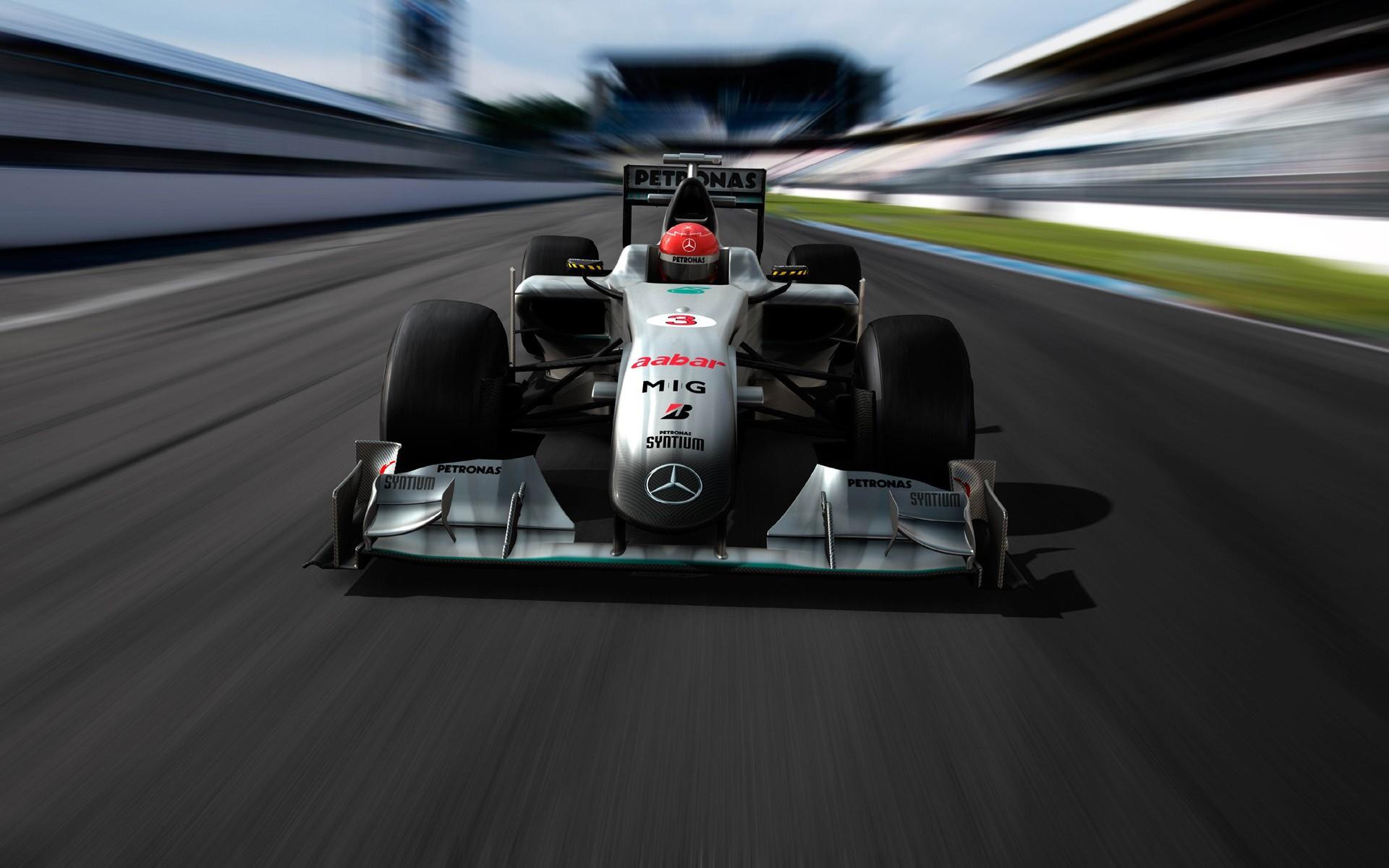 Formula 1 Mercedes Benz - 1920x1200