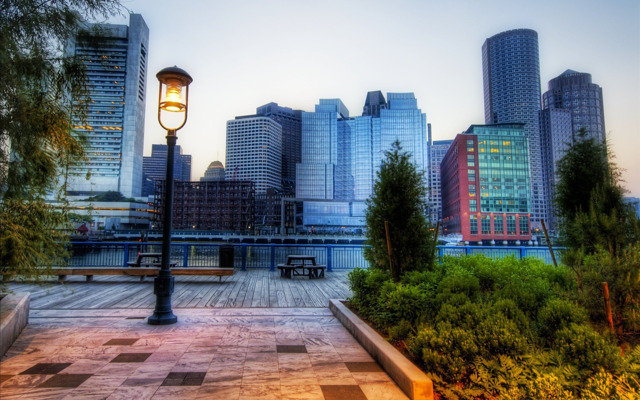 Fotografías HDR de ciudades - 2560x1600