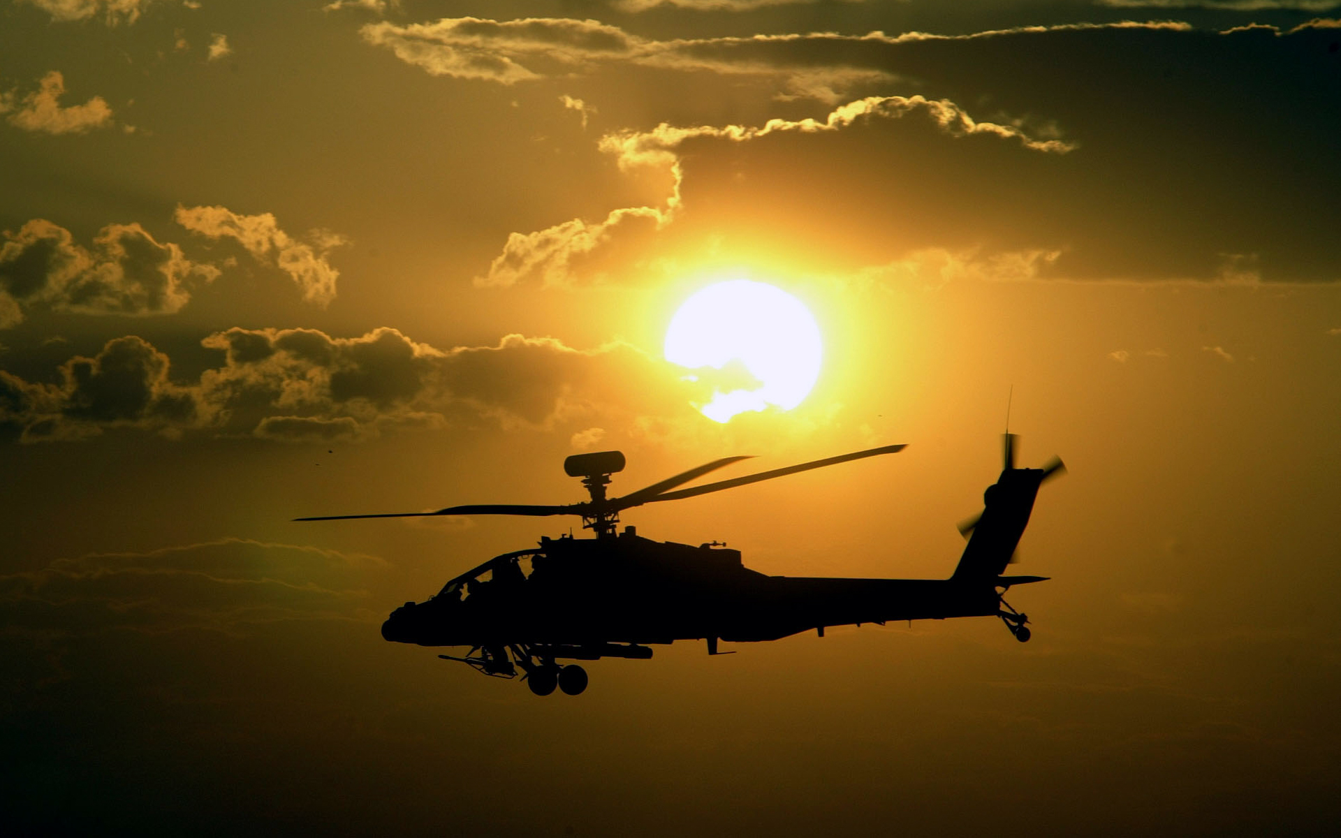 Helicóptero AH 64 Apache - 1920x1200