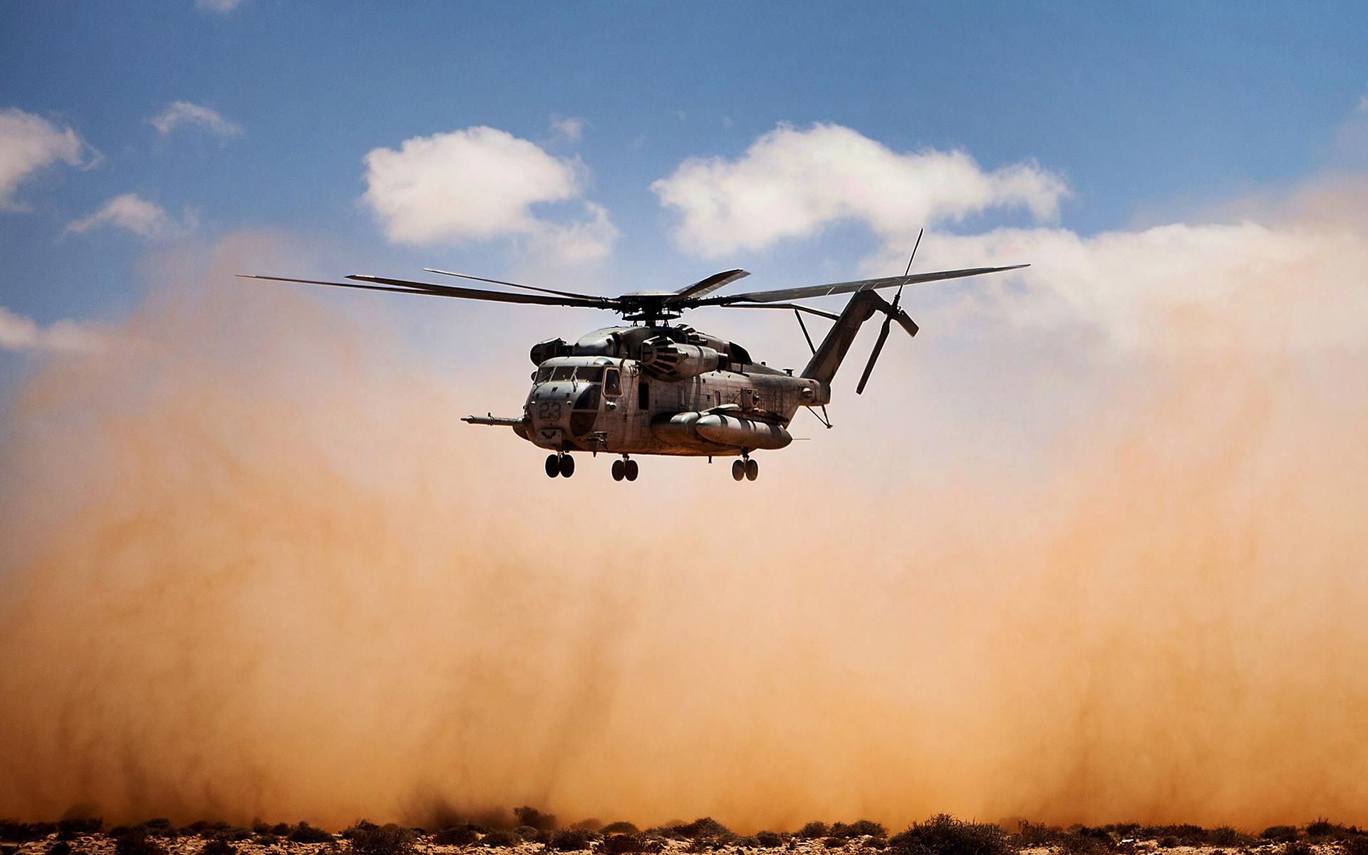 Helicóptero despegando - 1920x1200