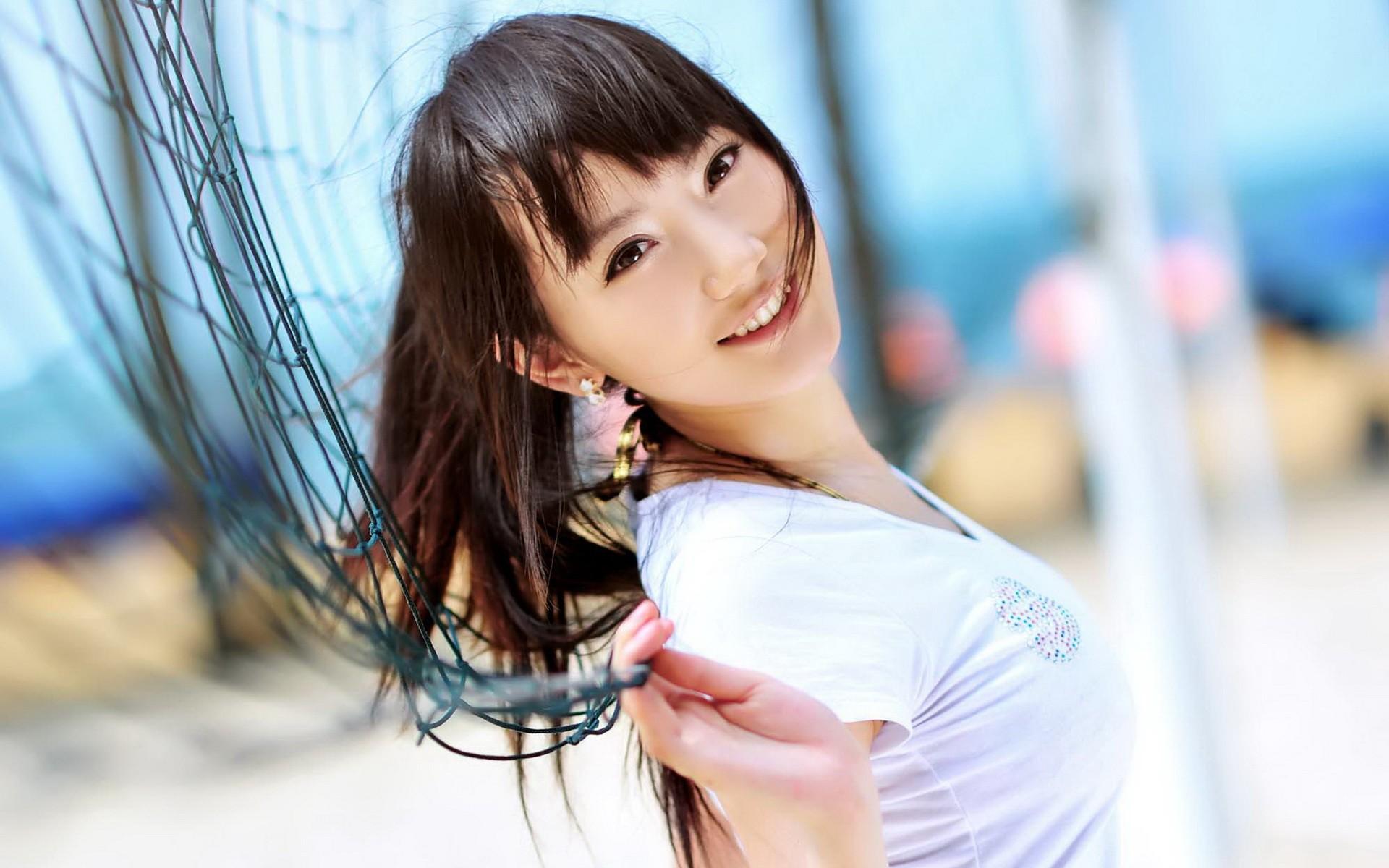 Hermosa asiática - 1920x1200