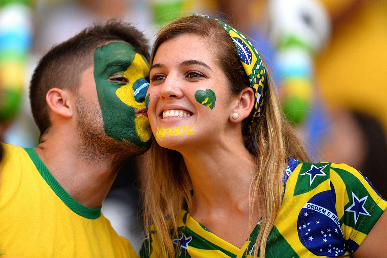 Hinchas de Brasil 2014 - 2197x1463