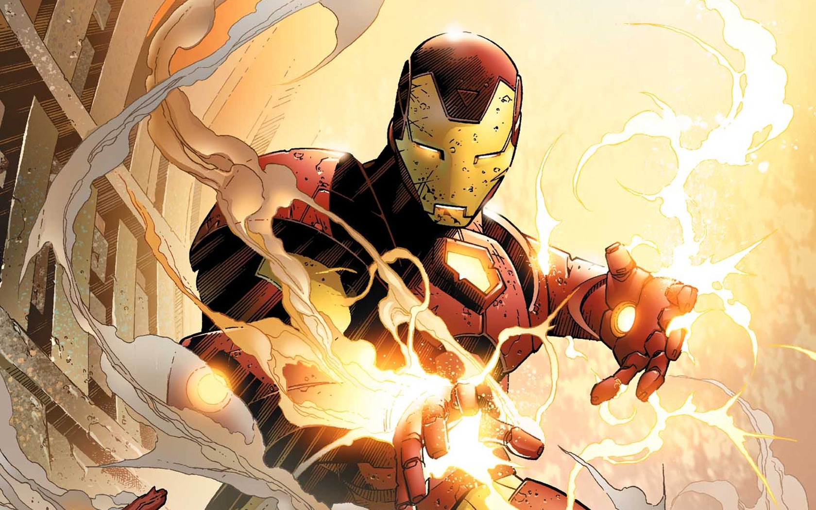 Iron Man comics - 1680x1050