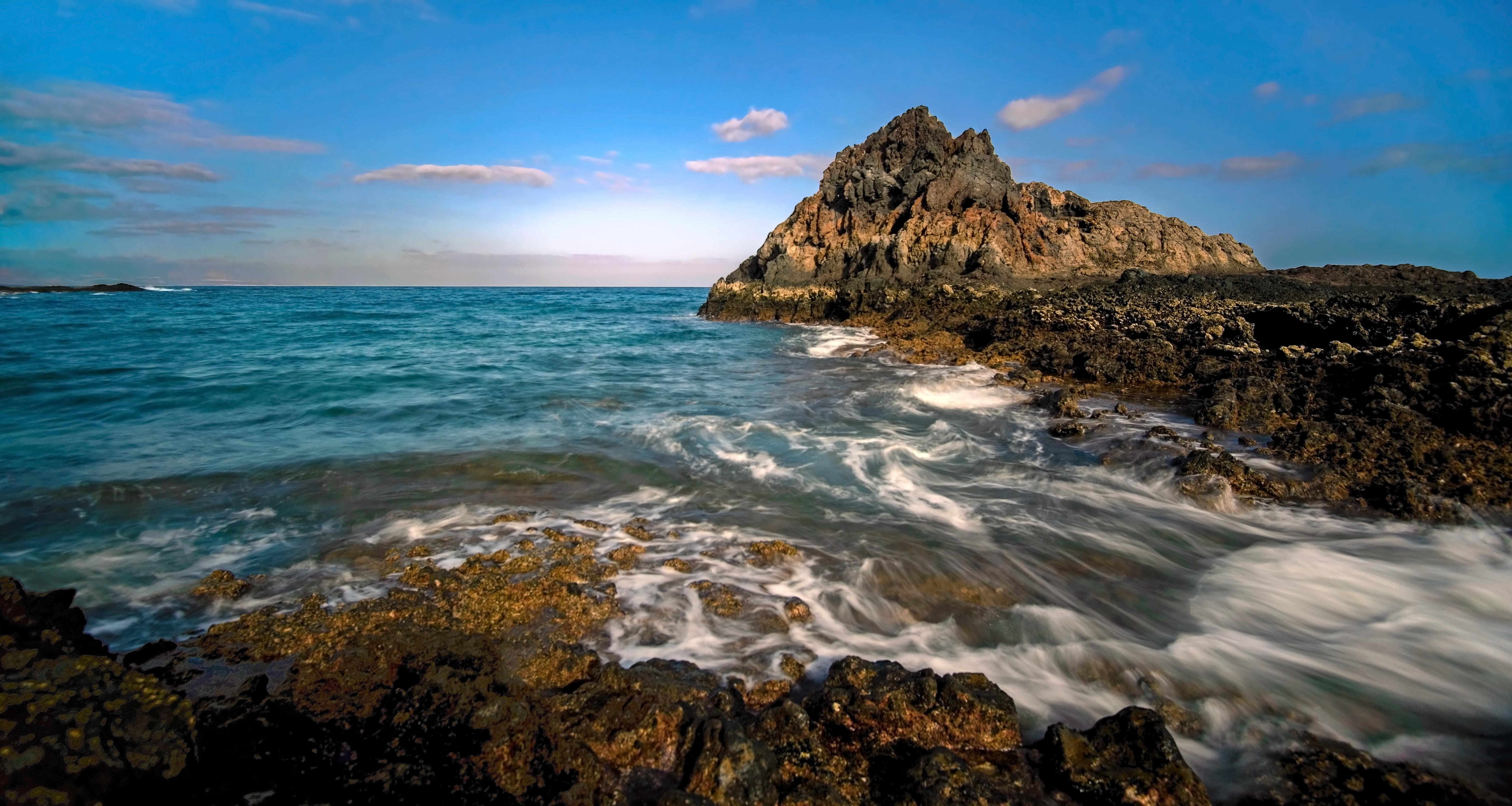 Isla de Lobos en España - 5835x3113
