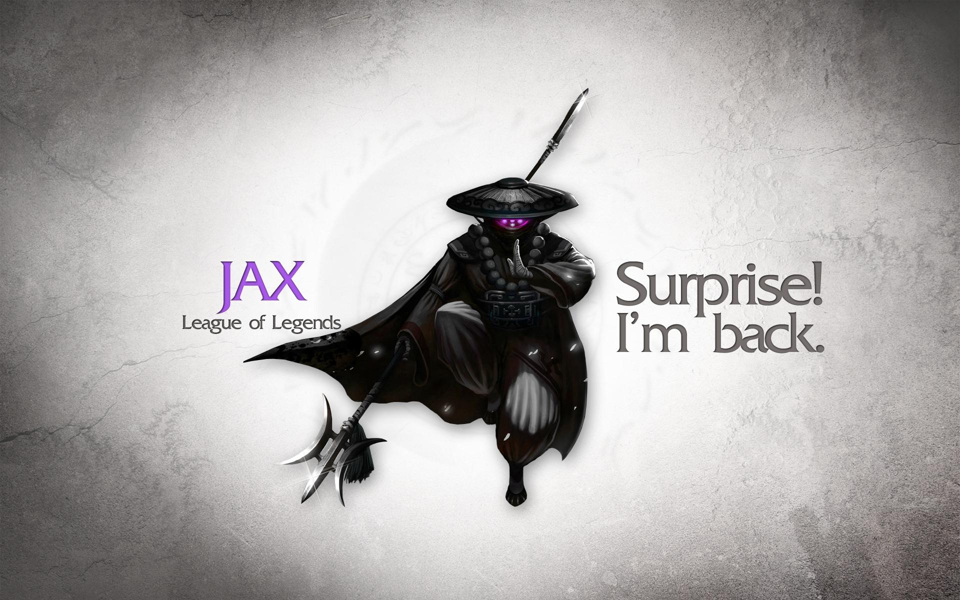 Jax, La liga de leyendas - 1920x1200