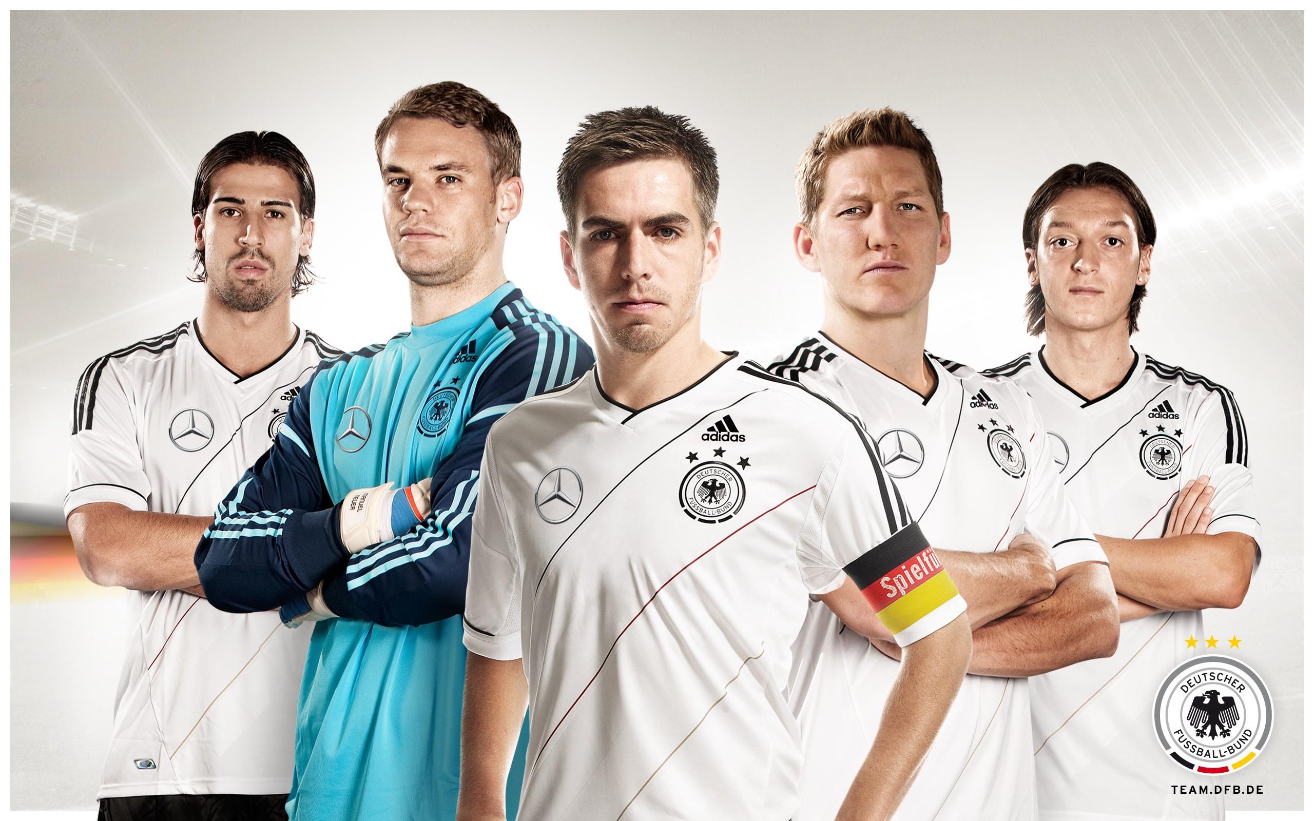 Jugadores de Alemania - 2560x1600