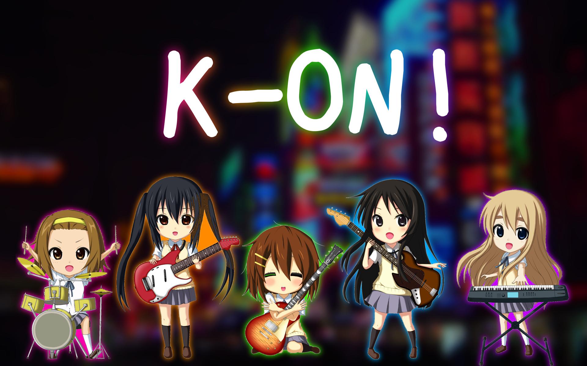 K-ON! - 1920x1200