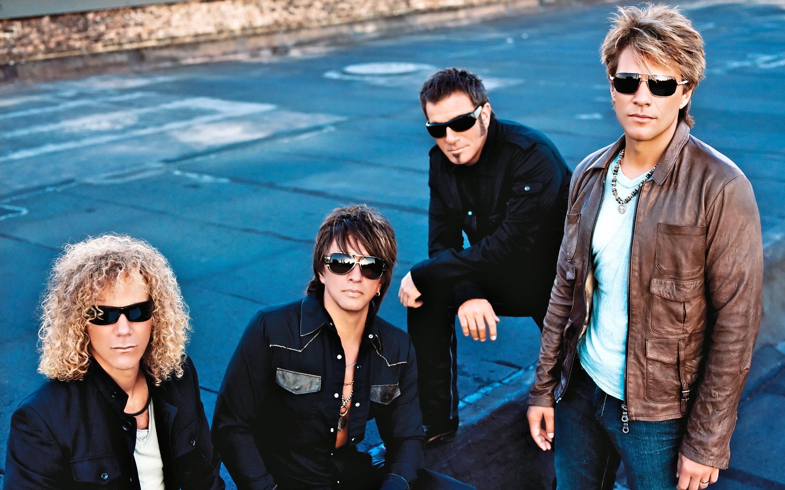 La banda de Bon Jovi - 2560x1600