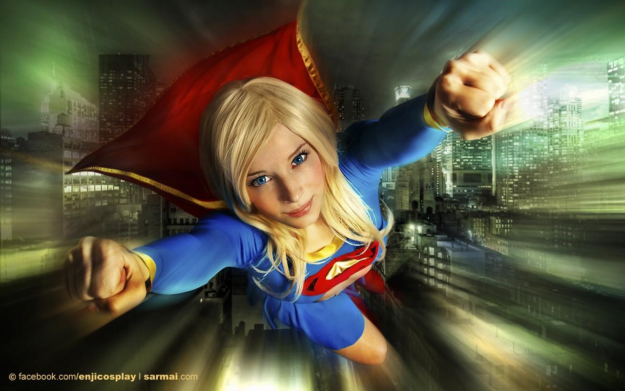 La chica Super Man - 1280x800