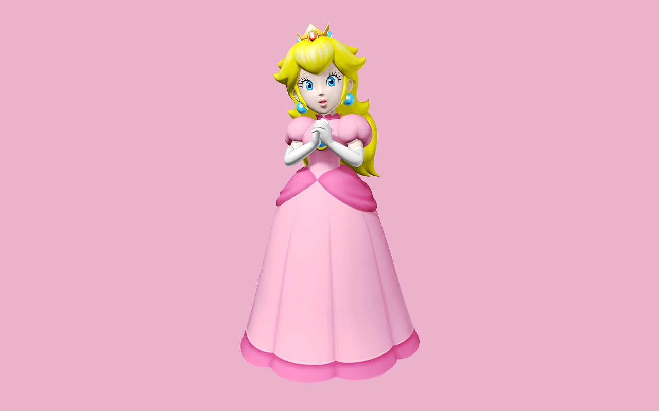 La princesa de Mario Bross - 1280x800