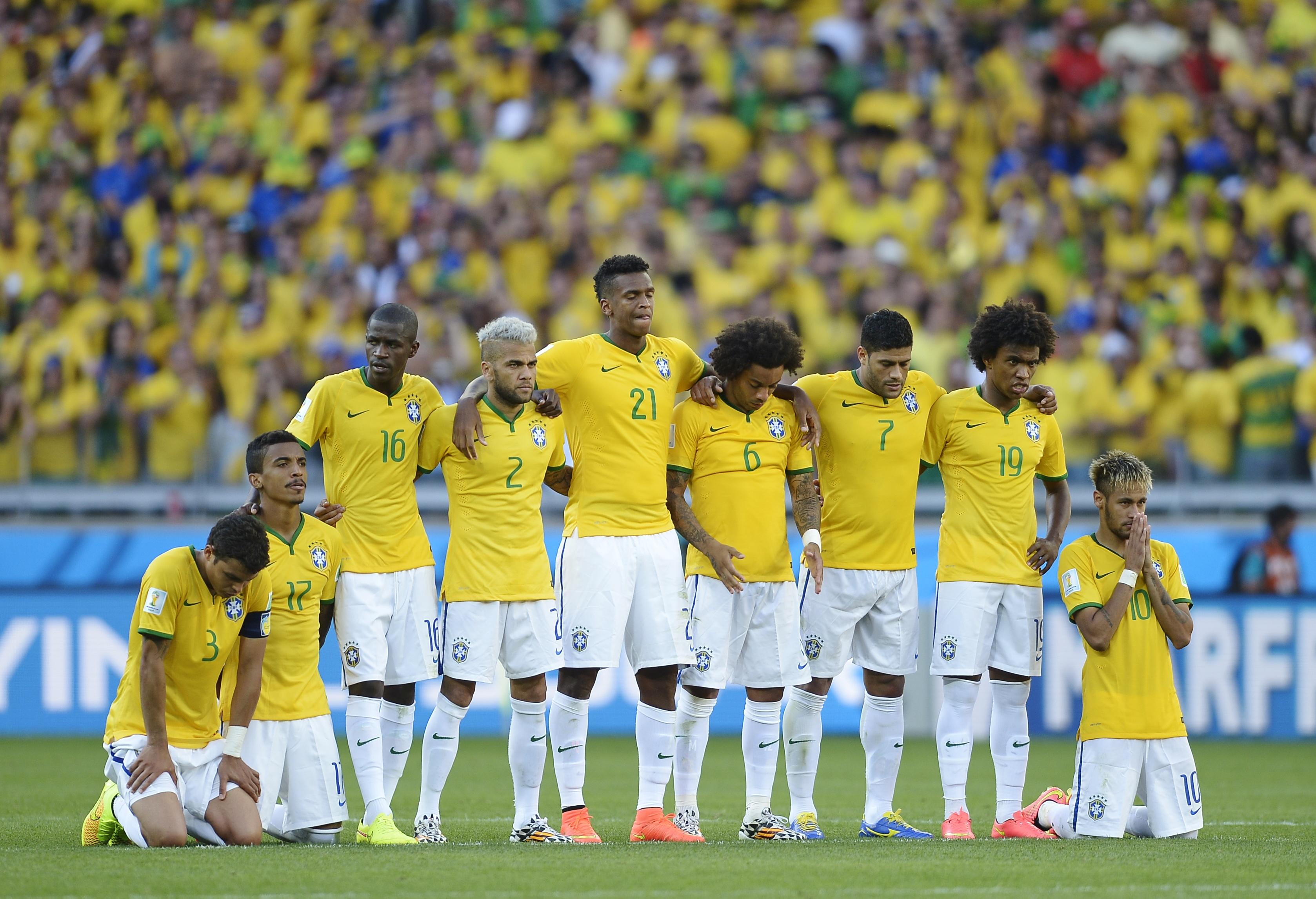 La selección Brasilera en penales - 3356x2292
