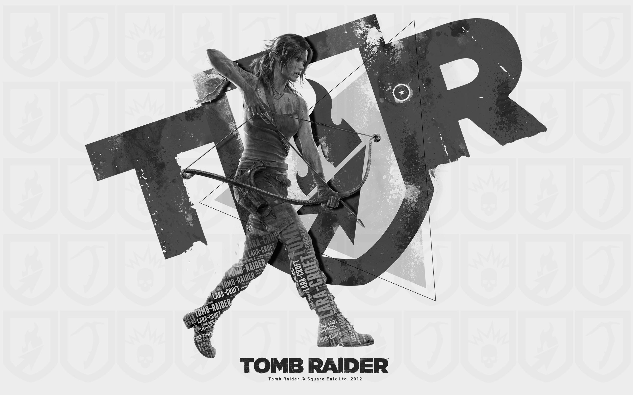 Lara Croft en Tomb Raider - 2560x1600