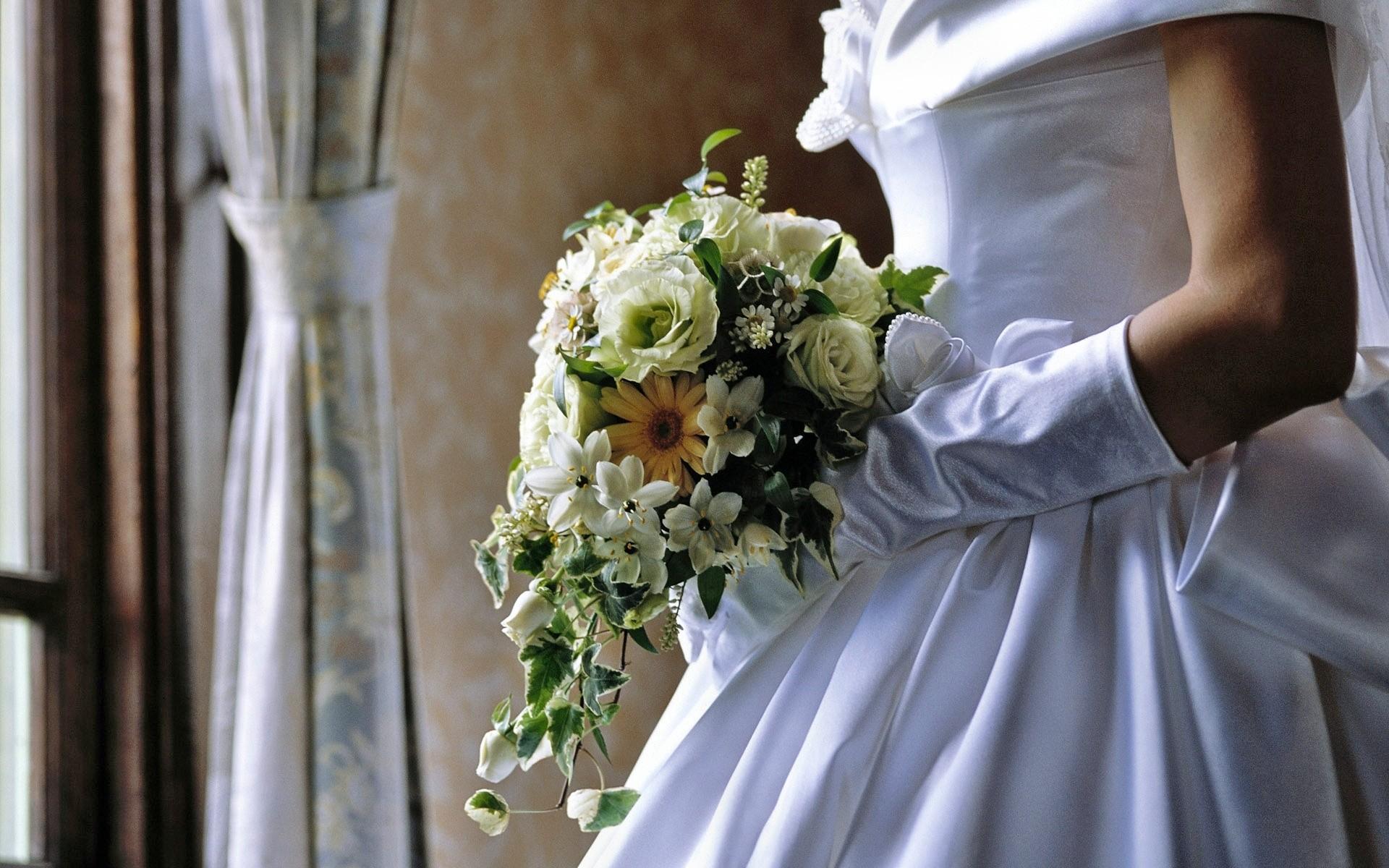 Las flores de una novia - 1920x1200