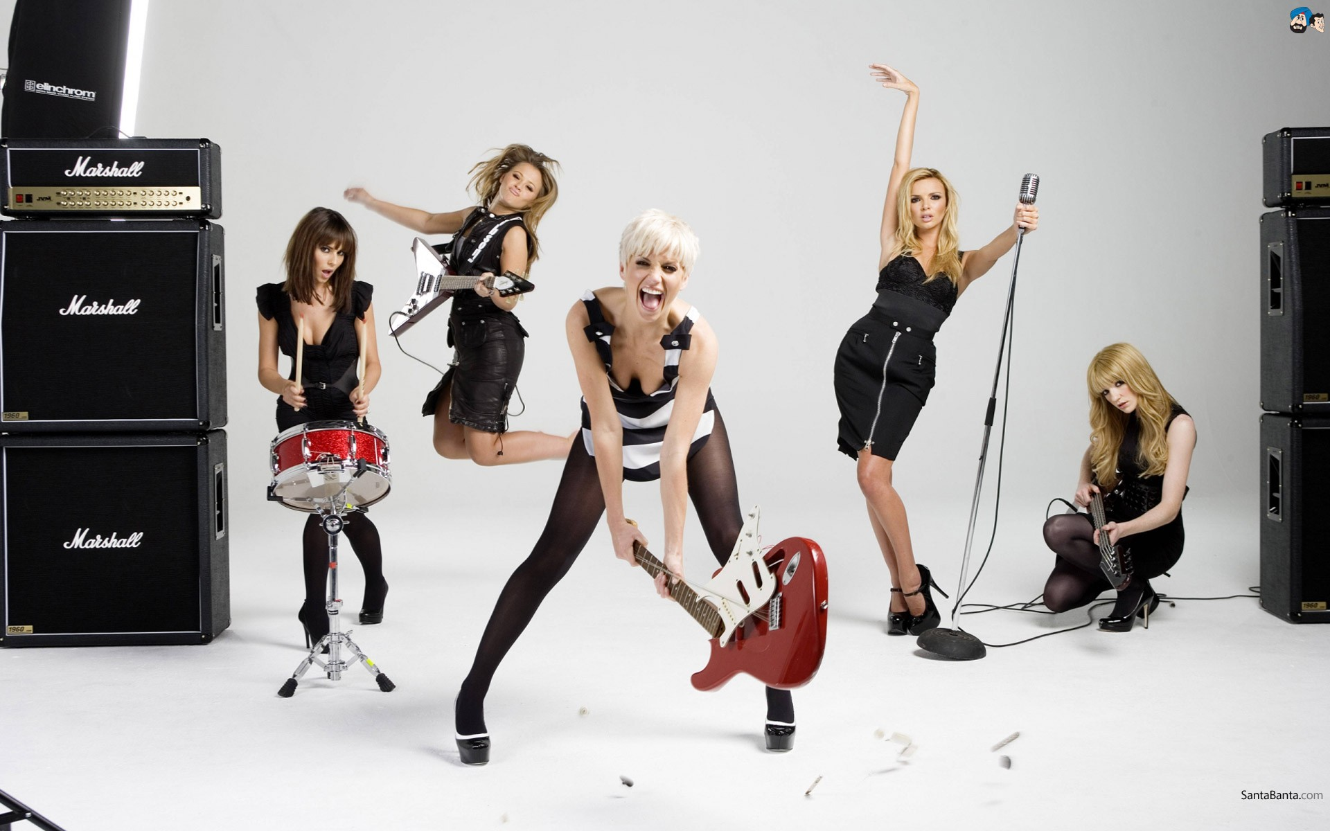 Las Girls Aloud - 1920x1200