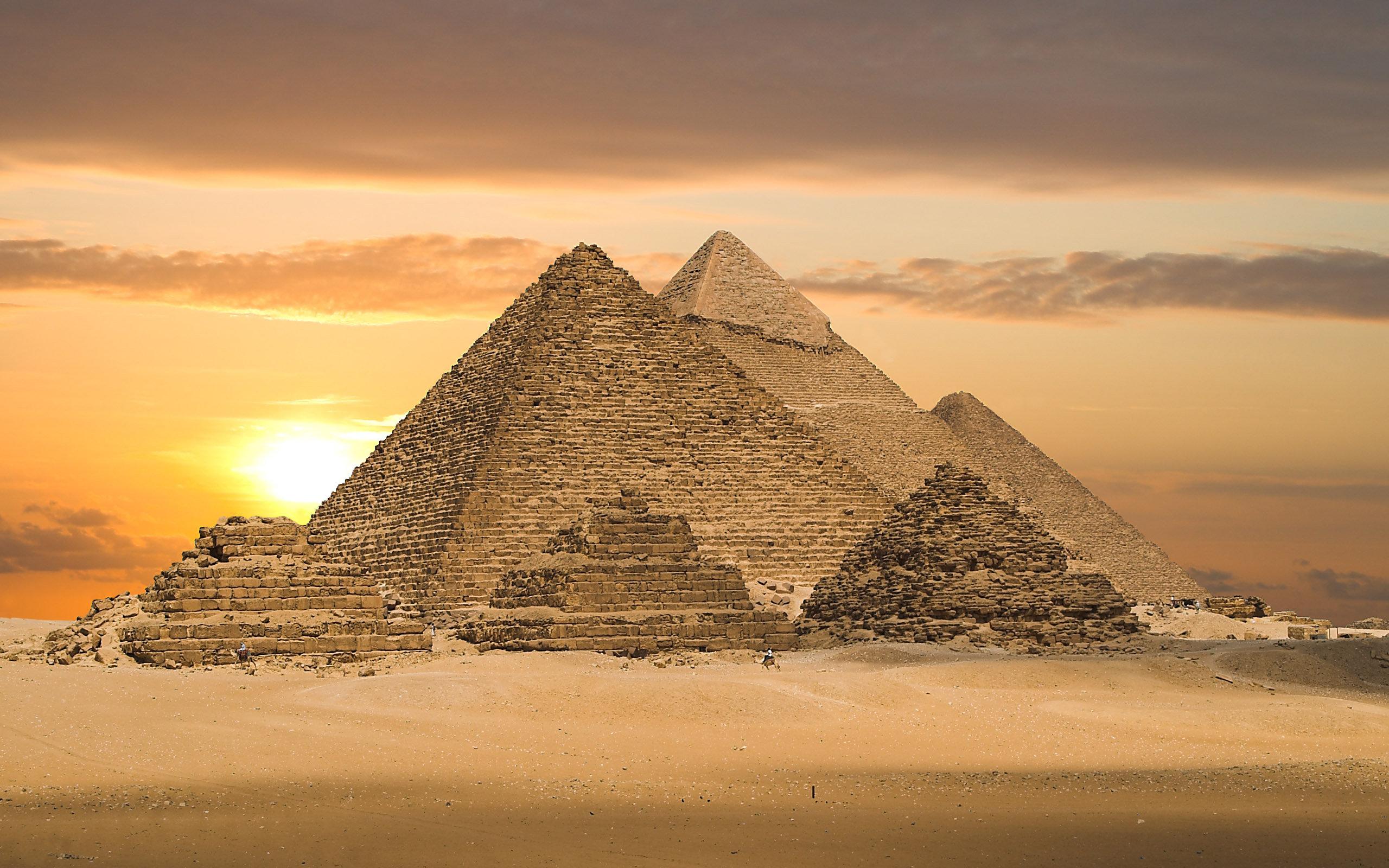 Las Pirámides de Egipto - 2560x1600