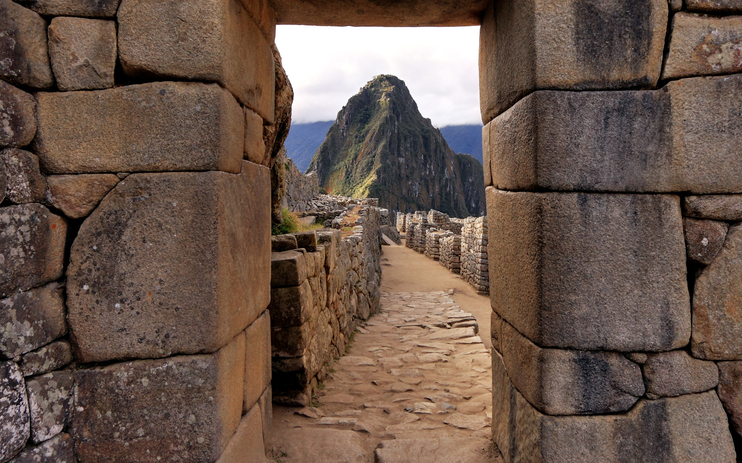 Las ruinas de Machu Pichu - 2560x1600