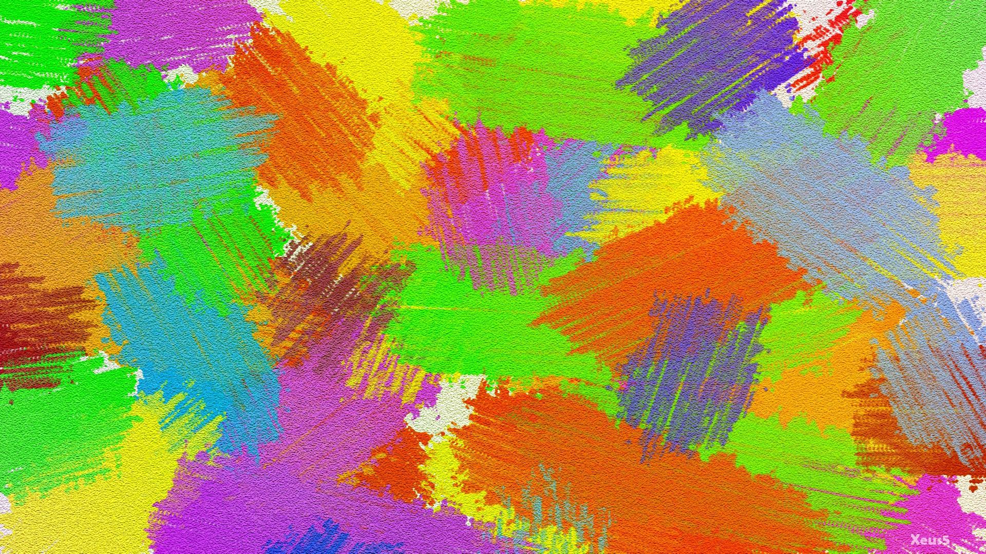 Manchas de pinturas - 1920x1080