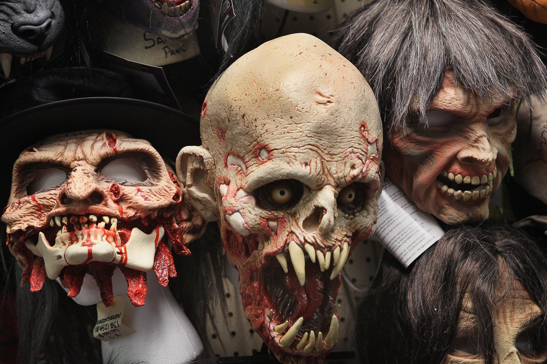 Máscaras para Halloween - 3000x2001