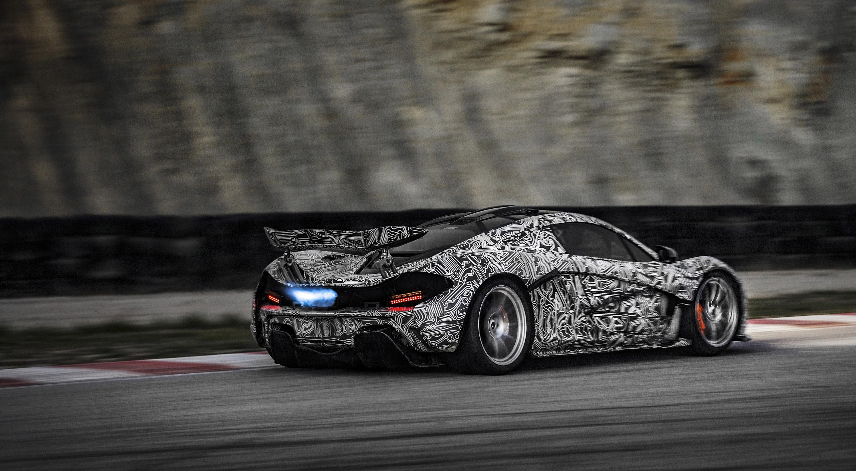 McLaren P1 Development - 3000x1652
