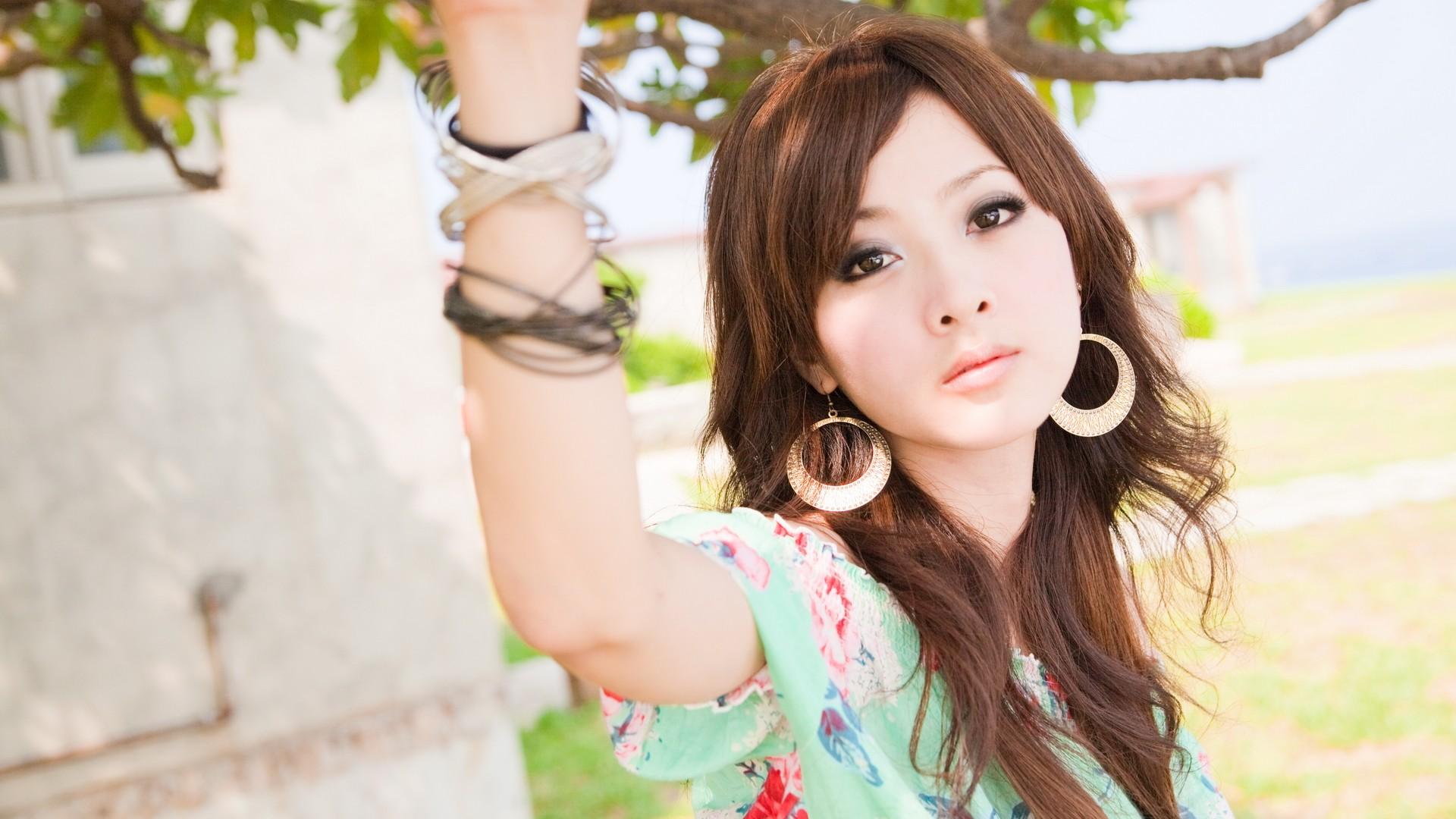 Mikako Zhang Kaijie rostro - 1920x1080