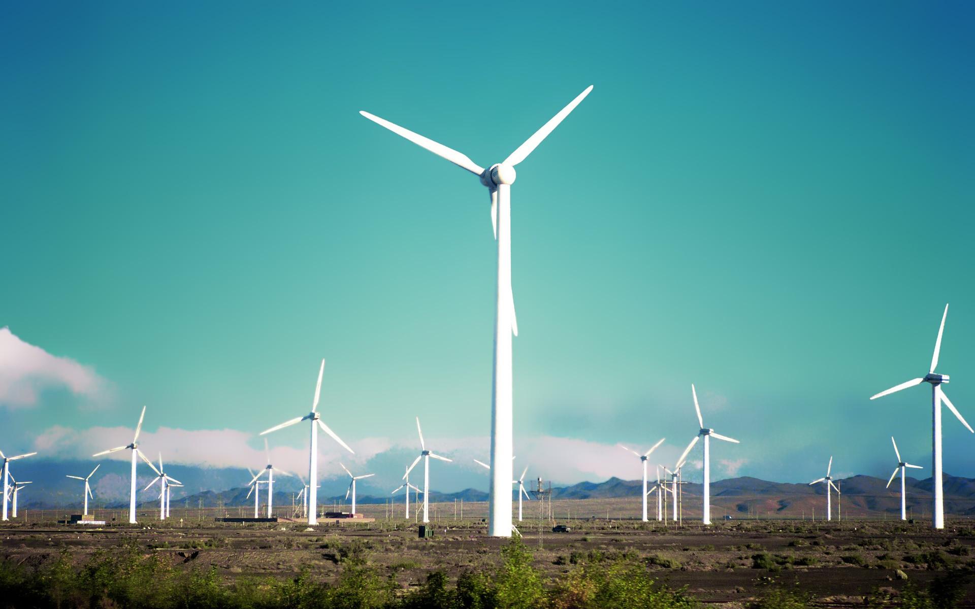 Molinos de viento - 1920x1200