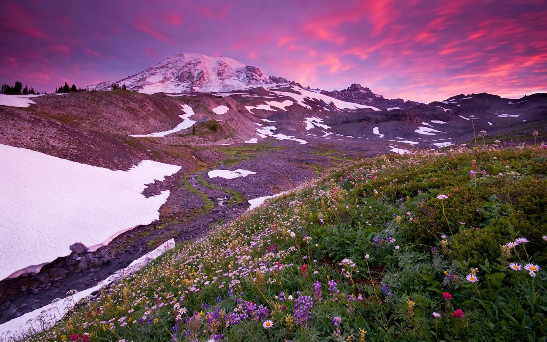 Montañas y nevados - 1440x900