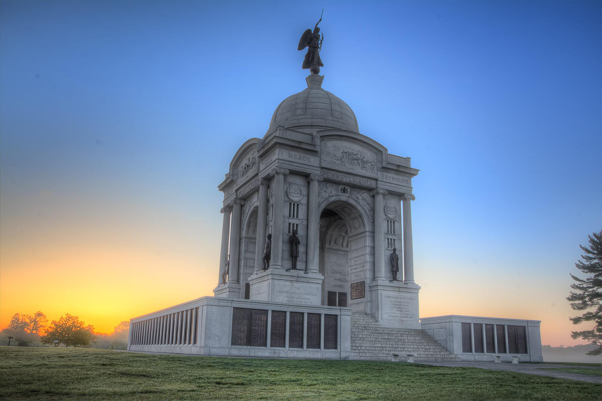 Monumento en Pennsylvania - 2048x1364