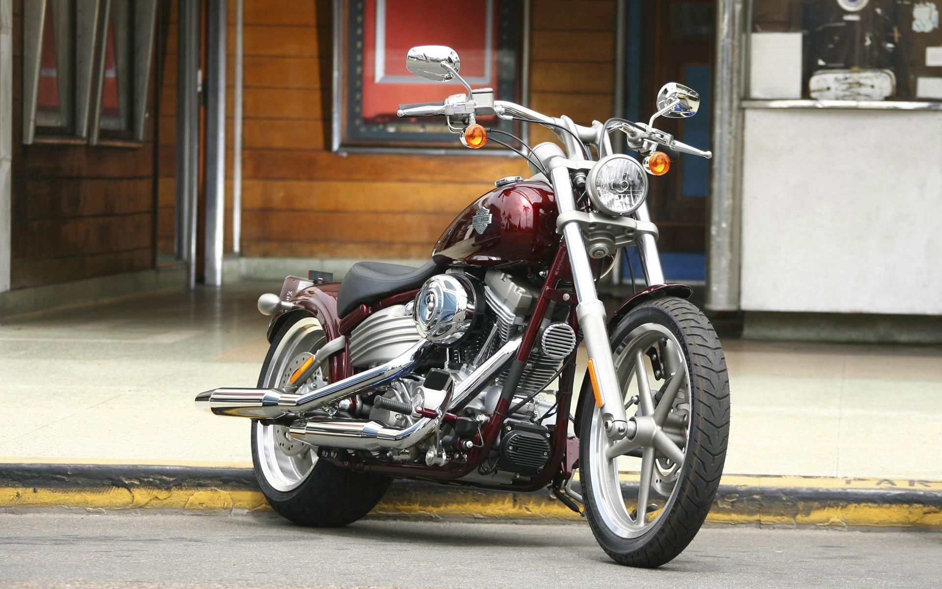 Moto Harley Davidson - 1920x1200