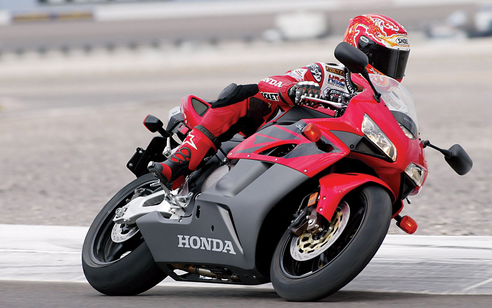 Moto Honda CBR - 1920x1200