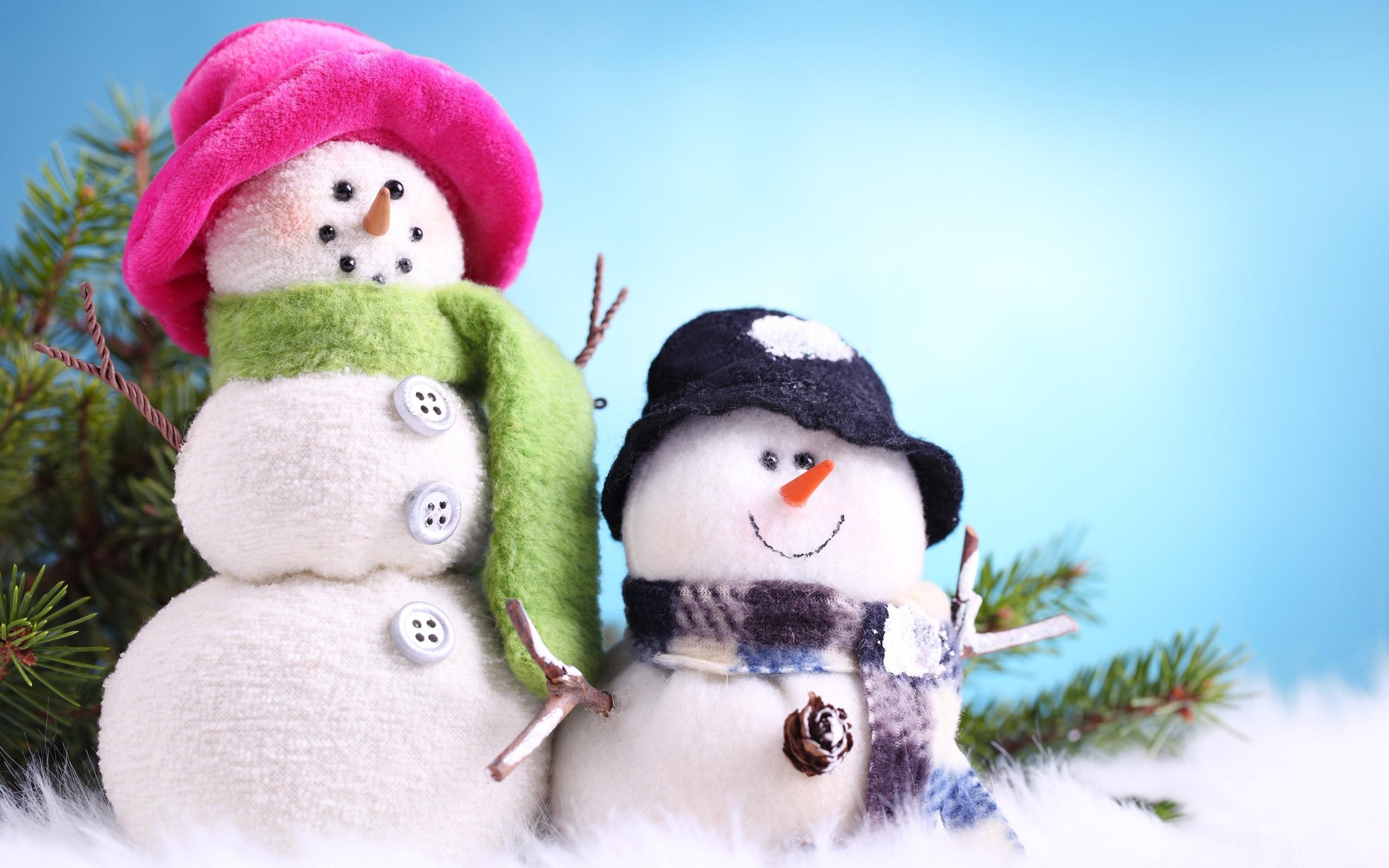 Muñeco de las nieves - 2560x1600