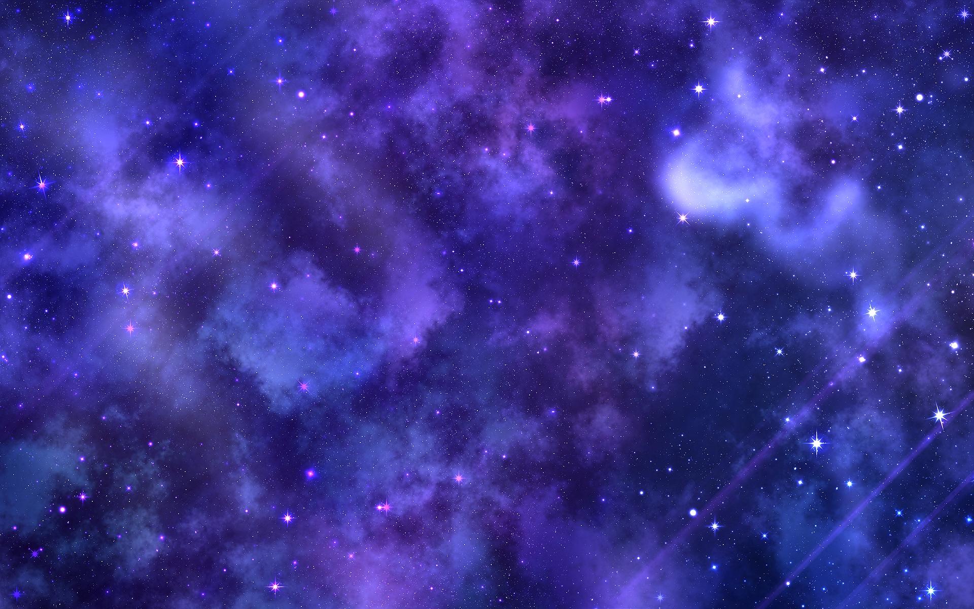 Nebulosas moradas - 1920x1200