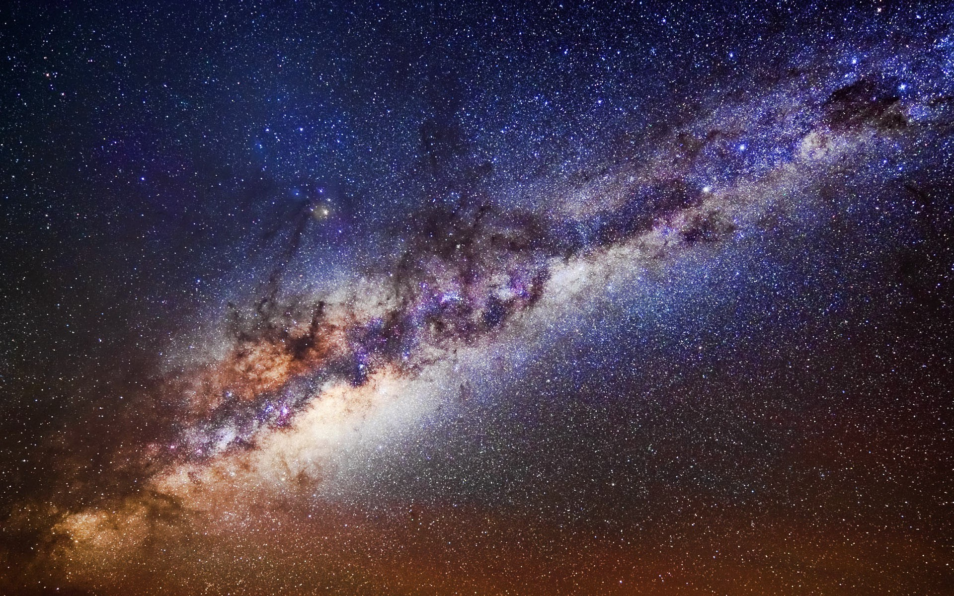 Nebulosas y el espacio - 1920x1200
